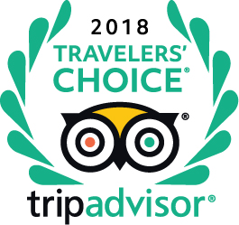 Tripadvisor 2018 Travelers Choice award for bed and breakfast Petra Fig Tree Villa
