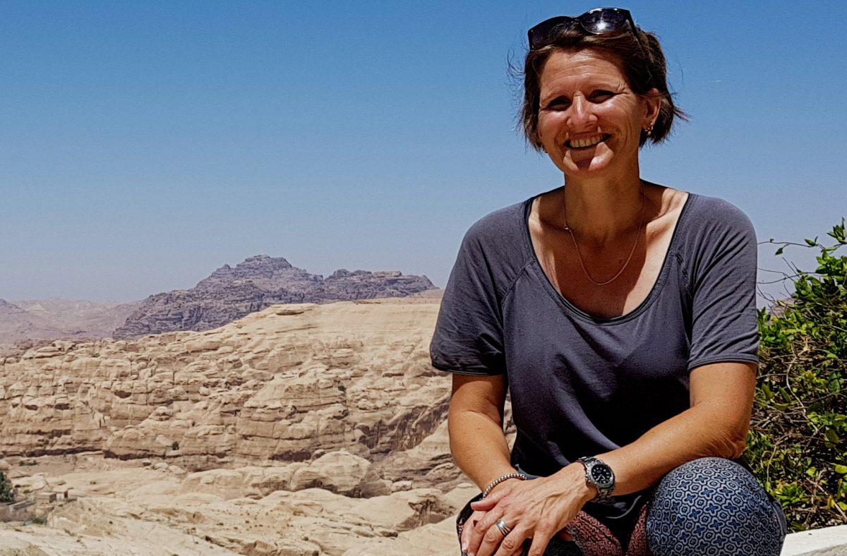 Jolanda your fellow country (wo)man in bed and breakfast Petra Fig Tree Villa in Jordan
