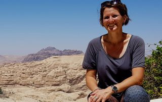 Jolanda your fellow country (wo)man in bed and breakfast Petra Fig Tree Villa in Jordan