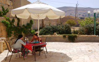Breakfast at B&B Petra Fig Tree Villa