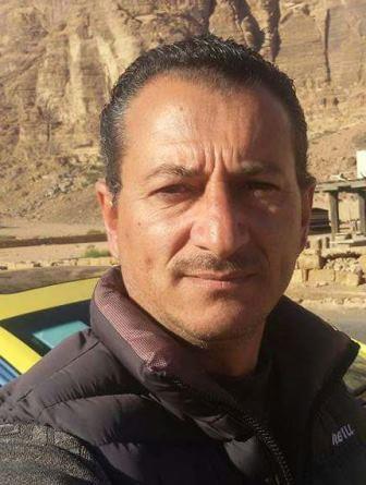 Saleh Helalat taxi driver in Jordan