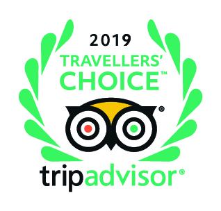Tripadvisor certificate 2019 Petra Fig Tree Villa