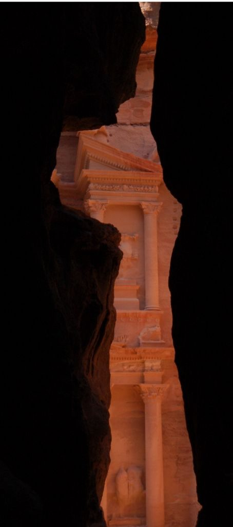 The first look on the Treasury, Petra Jordan