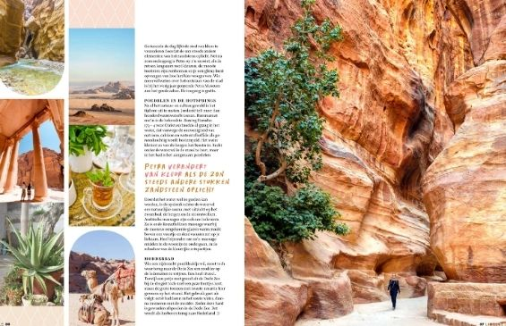 Artikel Libelle over Jordanië met Petra Fig Tree Villa
